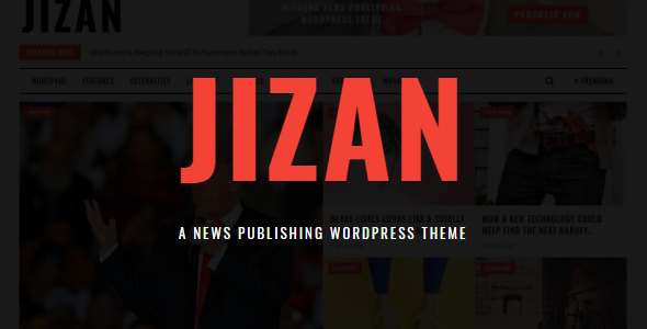Jizan | A Newspaper WordPress Theme - News / Editorial Blog / Magazine