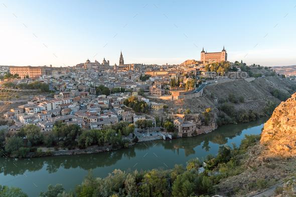 Toledo in Spain - Stock Photo - Images