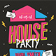House Party Flyer - GraphicRiver Item for Sale