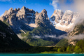 Lago di Landro Lake in the Dolomites, South Tyrol, Italy, Europe - PhotoDune Item for Sale