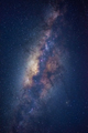 The Milky way galaxy on a night sky - PhotoDune Item for Sale