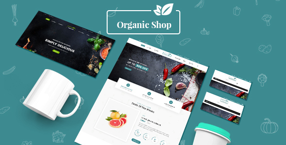 ThemeForest Organic Shop Responsive Prestashop 1.7 Theme 21087056