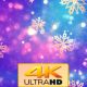 Christmas Gold Snowflakes 3 - VideoHive Item for Sale