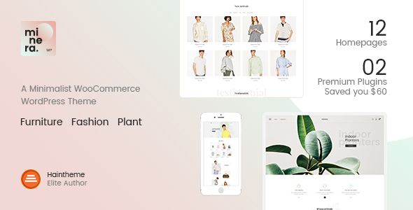 Image of Minera - Minimalist WooCommerce WordPress Theme