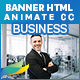 Corporate Business Banners HTML5 - 7size (Animate CC) - CodeCanyon Item for Sale