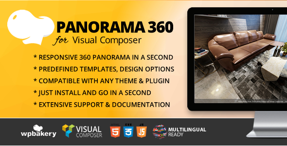 CodeCanyon Panorama 360 Addon for Visual Composer 21050124