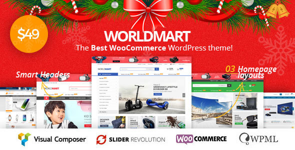 Image of Worldmart - WooCommerce WordPress Theme