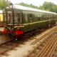 Vintage Train Departing