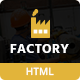 Factory & Industrial Template
