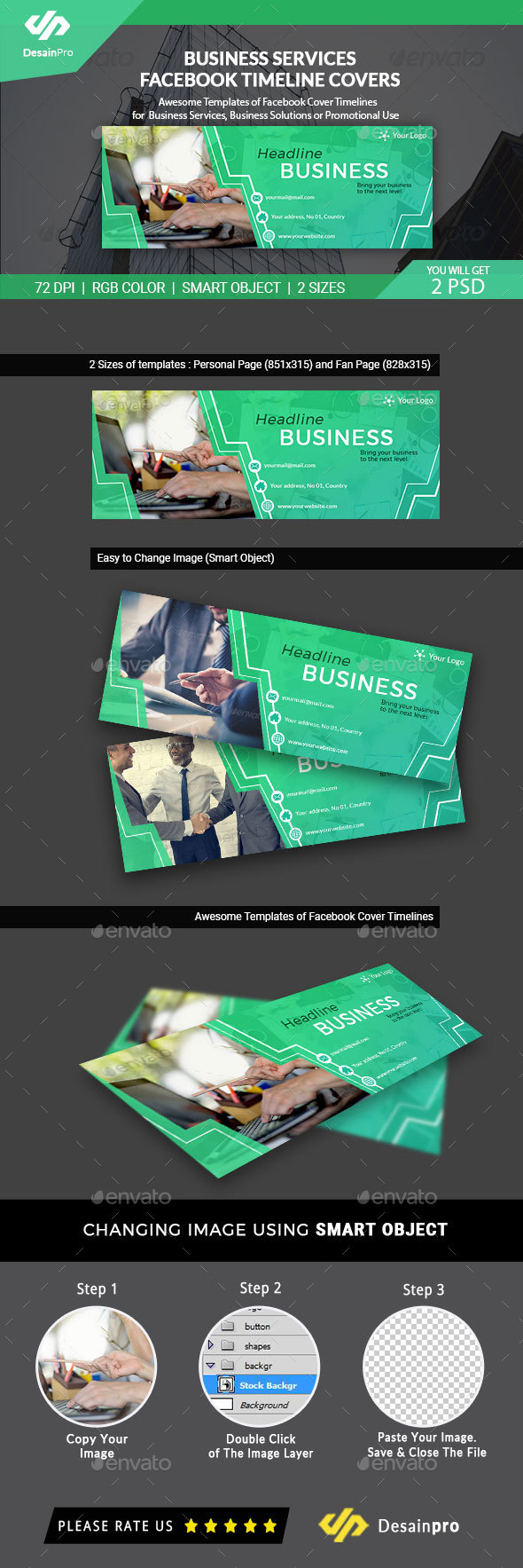 GraphicRiver Business Services Facebook Timeline Covers AR 21087744