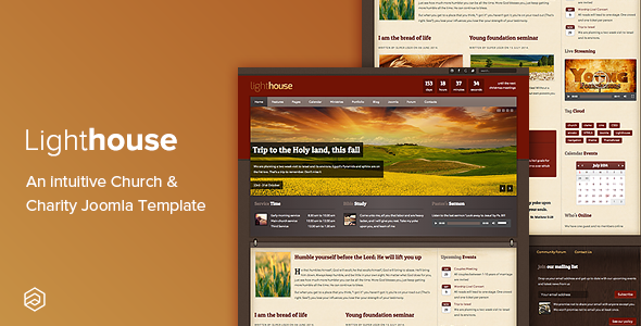 Image of Lighthouse - Church Charity Responsive Joomla Template
