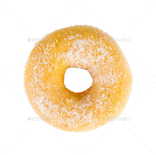 Sugared sweet donut - Stock Photo - Images