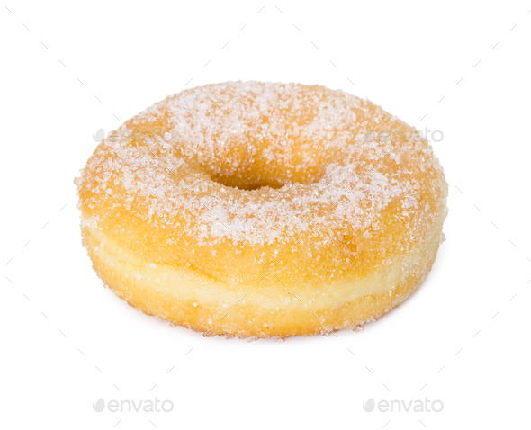 Candied sweet donut - Stock Photo - Images