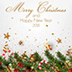 Stylish Modern Merry Christmas and Happy New Year 2018 cards - GraphicRiver Item for Sale