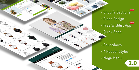 Quickshop - Responsive Shopify Sections Theme - Fashion Shopify