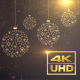 Christmas Snowflake Balls - VideoHive Item for Sale