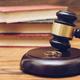 Wooden judge gavel and golden rings,  divorce concept - PhotoDune Item for Sale