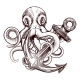 Octopus Anchor - GraphicRiver Item for Sale