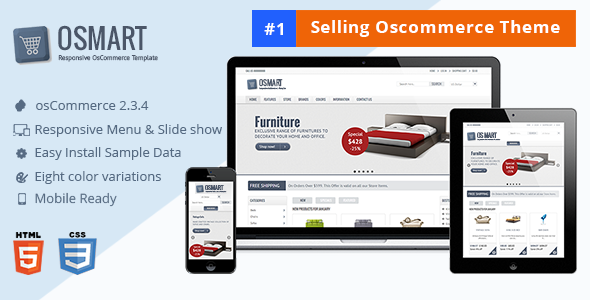 OSMART – Responsive osCommerce template - Shopping osCommerce