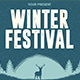 Winter Festival Flyer Template - GraphicRiver Item for Sale