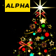Christmas Tree Alpha - VideoHive Item for Sale