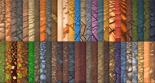 Hand Painted Textures by LowlyPoly