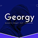 Georgy - Modern,Elegant, Fashionable Sans Serif Font