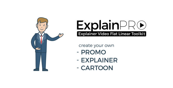 ExplainPRO. Explainer Video Flat Linear Toolkit 21033097
