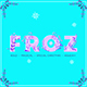 Froz Color Font - Christmas Winter Holiday Font