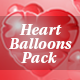 Heart Balloons Pack - VideoHive Item for Sale