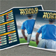 World Soccer Cup Russia 2018 Schedule Brochure - GraphicRiver Item for Sale