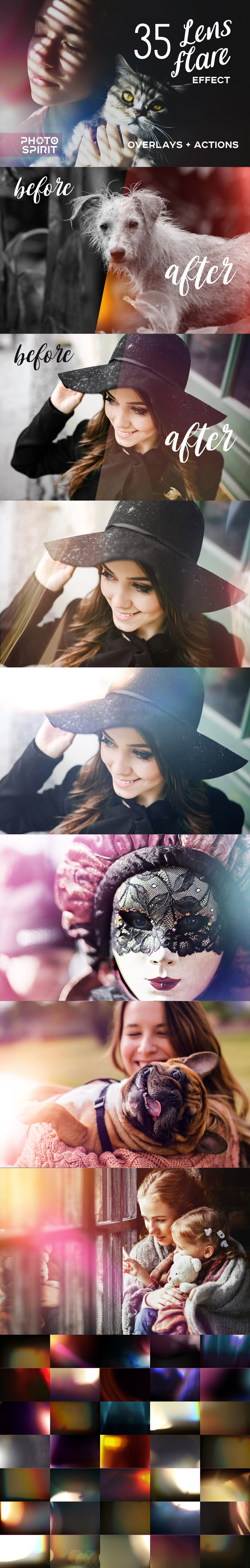 GraphicRiver Lens Flare Effect Photoshop 21088846