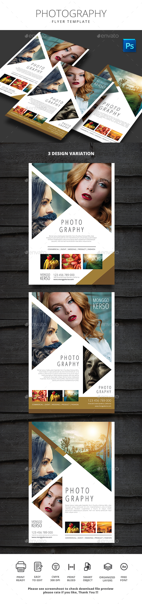 Photography - Flyers Print Templates