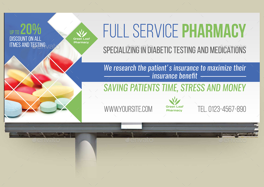 Pharmacy Advertising Bundle Vol 2 By Owpictures Graphicriver