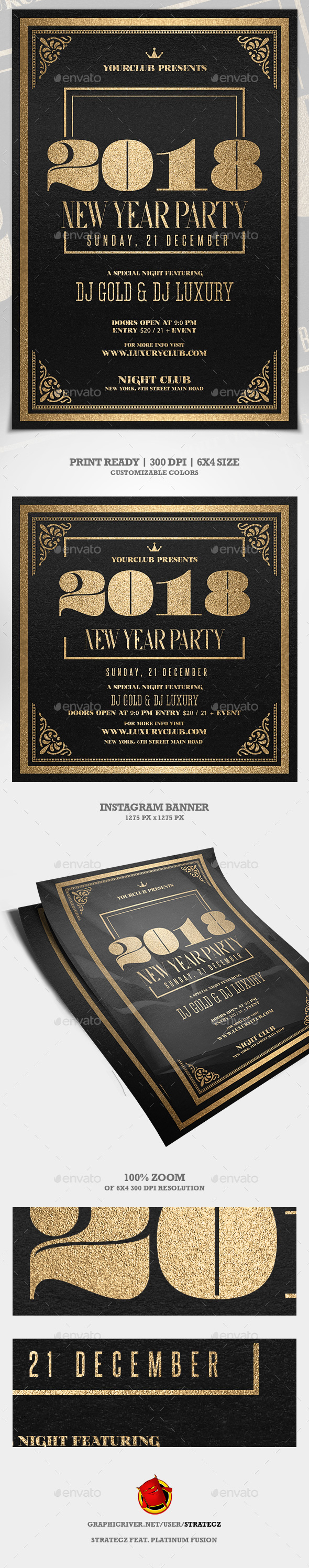 GraphicRiver New Year Party 21089080