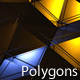 Metallic Polygon Field - VideoHive Item for Sale