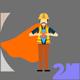 Super Construction man Concept - VideoHive Item for Sale