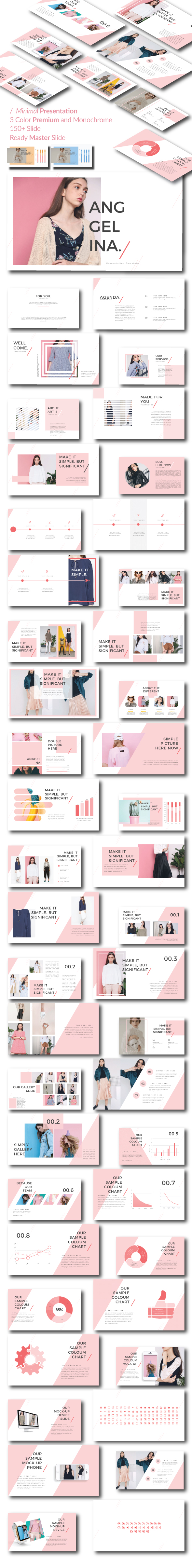 GraphicRiver Anggelina Google Slide Template 21089297