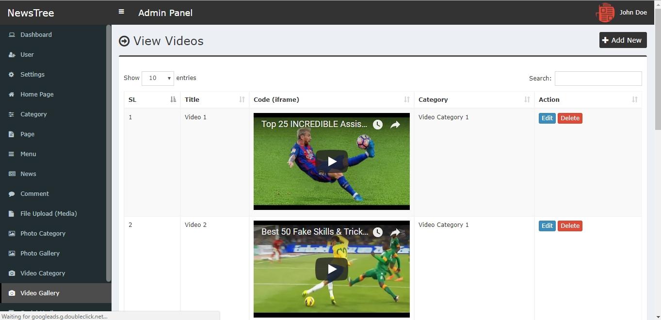 NewsTree - Magazine and News Portal Website CMS by xicia ...