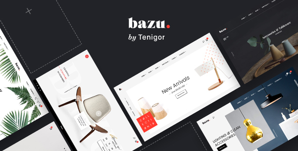 Download BAZU | Multi-Purpose Responsive eCommerce PSD Template            nulled nulled version