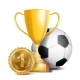 Football Award Vector