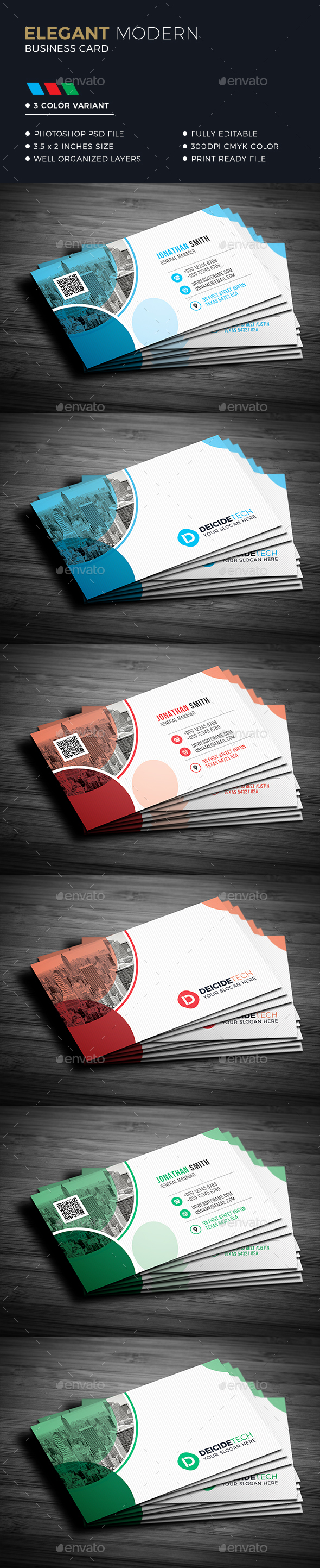 GraphicRiver Corporate Business Card 21089485