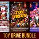 Toy Drive Flyer Bundle