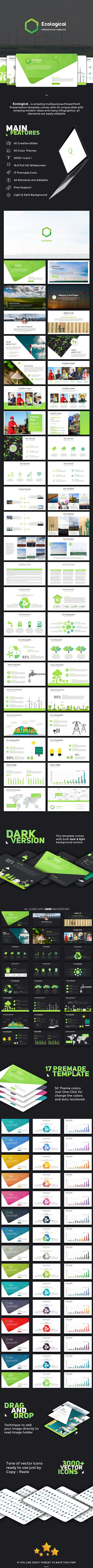 GraphicRiver Ecological PowerPoint Template 21089719