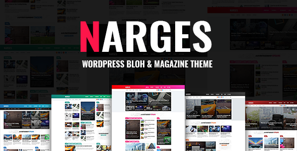 ThemeForest Narges WordPress Blog & Magazine Theme 20853084