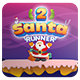 Santa Runner 2 -Complete Game Buildbox 2.2.9 Template Included