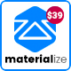 Materialize - Material Design Multipurpose WordPress Theme - ThemeForest Item for Sale