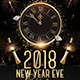 New Year Eve 2018 Flyer Template - GraphicRiver Item for Sale