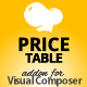 Price Table Monthly & Yearly Addon for WPBakery Page Builder (formerly Visual Composer)