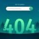 404 Error Page: Night Landscape